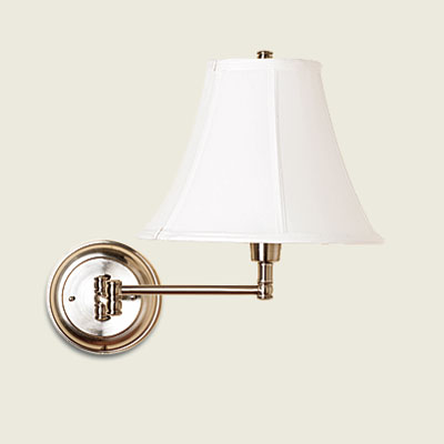 a sconce with lamp fixture