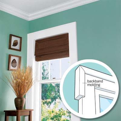 wrap windows with molding as an example of small scale big impact upgrade