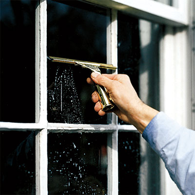 cleaner windows as an example of Free or Low-Cost Fix-ups tips