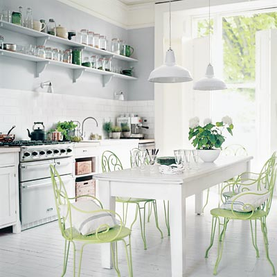 white country kitchen with simple style