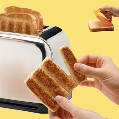 toast strip stamper wacky kitchen product