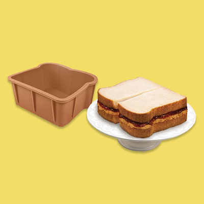 sandwich cake molds wacky kitchen product
