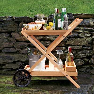 Take the Bar Al Fresco for a great summer projects