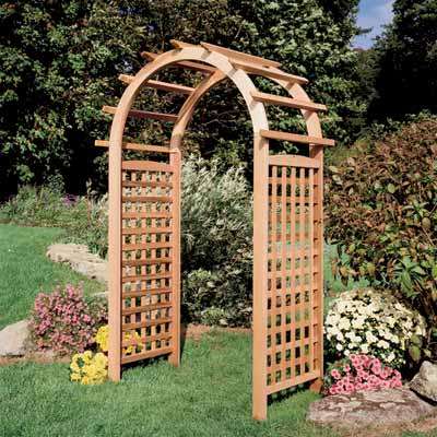 Give the Garden a Pretty Arbor for a great summer projects