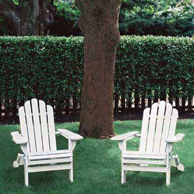 Get Comfy in an Adirondack Chair for a great summer projects