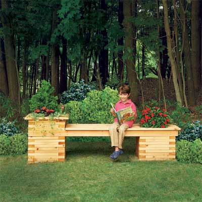 Plant flowers in a Weather-Resistant Box for a great summer projects
