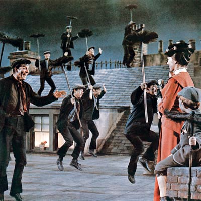 Chimney sweepers from the film Mary Poppins