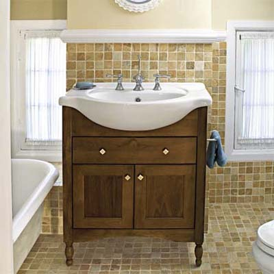Farmhouse Lavatory Remodel