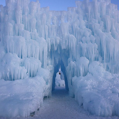 Midway Ice Castle | World's Wildest Snow and Ice Houses | This Old ...