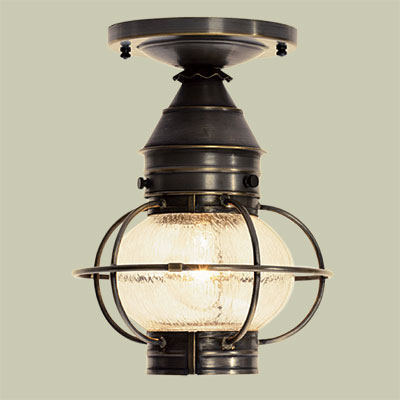 Onion Porch Lantern  Splurge for vintage character restoration