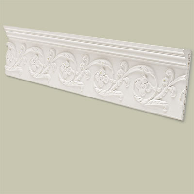 Classical Crown Molding Splurge  for vintage character restoration