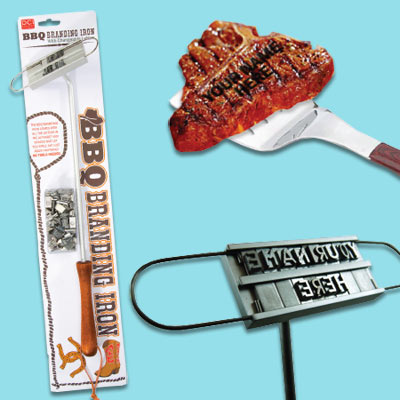 barbecue branding iron