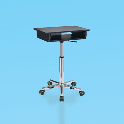 a folding laptop cart