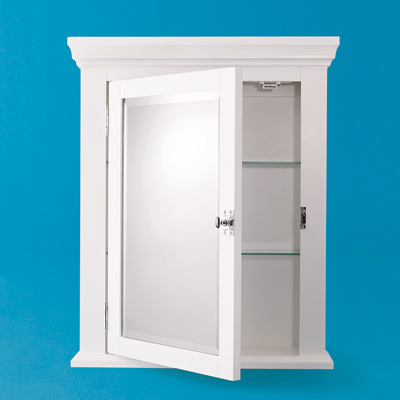 Wall-hung medicine cabinets
