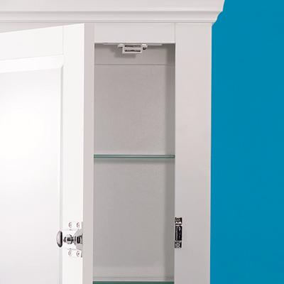 Wall-hung medicine cabinets