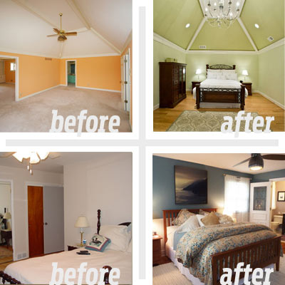 Remodeling mobile homes before and after memes for Small bedroom renovation