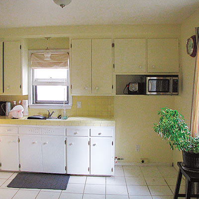 Kitchen before 7 small budget big impact upgrades from for Kitchen upgrades on a budget