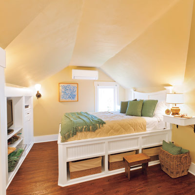 Revamped Attic Tapping Existing Potential To Create An Attic Master Suite This Old House