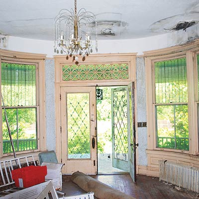 Interior parlor of this Mississippi Queen Anne