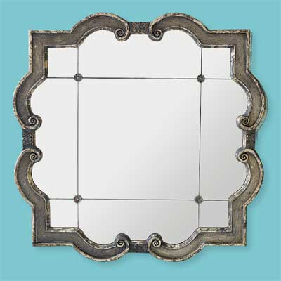 Gothic Quatrefoil style of architectural mirrors