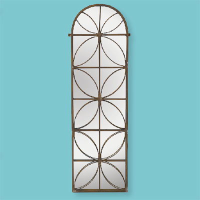 Patterned Panel style of architectural mirrors