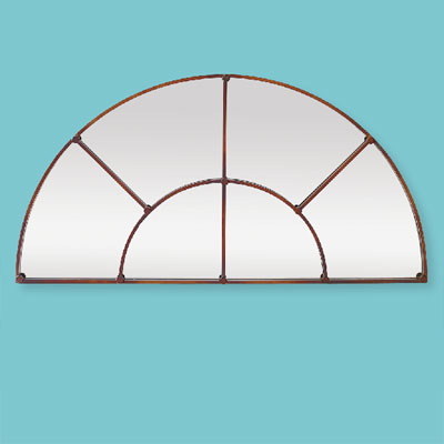 Reflective Fanlight style of architectural mirrors