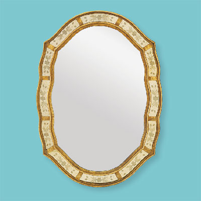 Beveled Beauty style of architectural mirrors