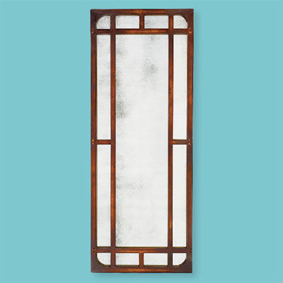 Smoky Screen style of architectural mirrors