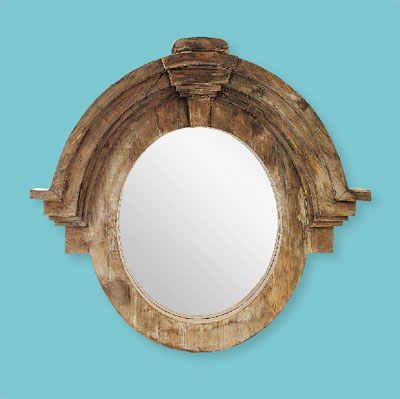 Mansard Style style of architectural mirrors