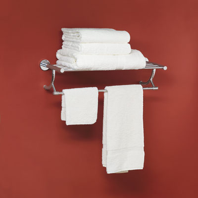 Train-style towel rack