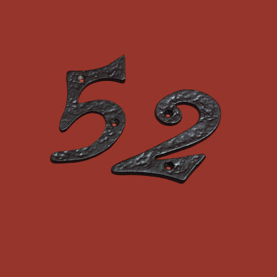 Colonial house numbers