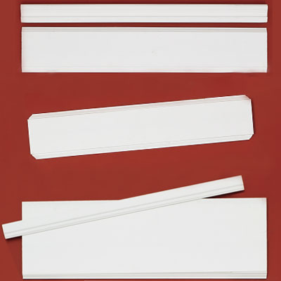 Faux-panel wainscot kit