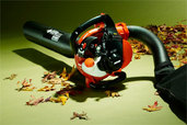 gas powered leaf blower