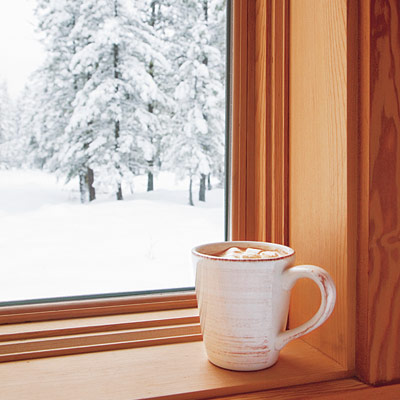 Window seal and mug
