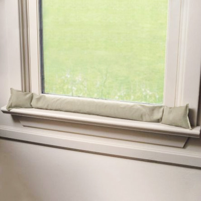 How to stop drafty windows