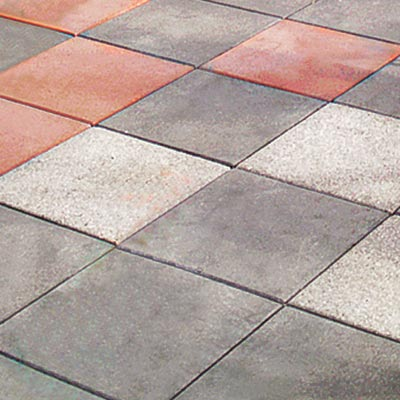 concrete patio material