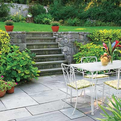bluestone patio