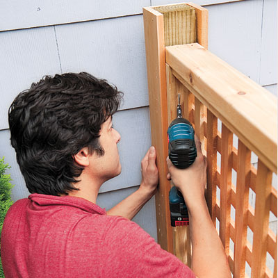 How To Build Wood Lattice Screens