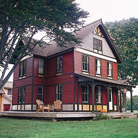 Victorian farmhouse