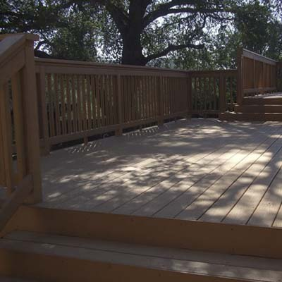 Decking materials composite decking material ratings for Composite deck material reviews