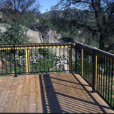 fire proof  decking exterior