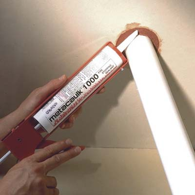 Fire-Rated Caulk from Meta Caulk demo