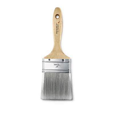 paint brush with poyester bristles