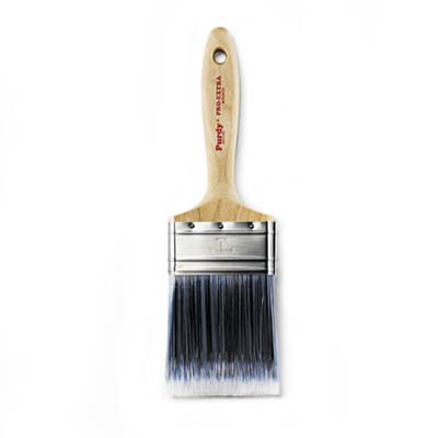 synthetic paint brush is a combination of nylon and polyester