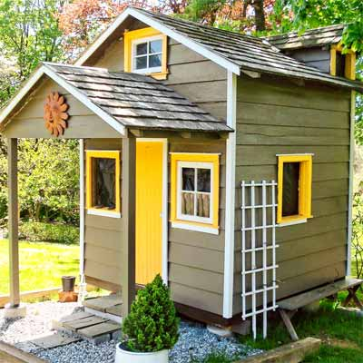Restored Garden Shed Readers Clever Upgrade Ideas That