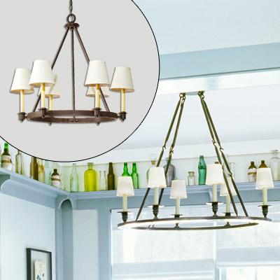 candelabra-style chandelier