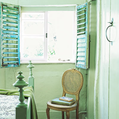 cottage style interior shutters
