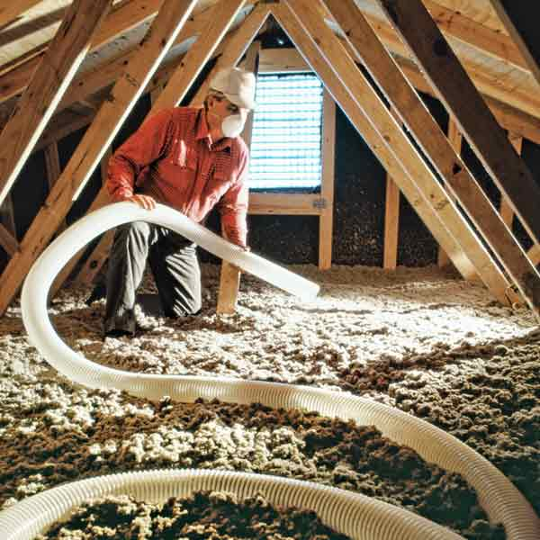 insulated attic