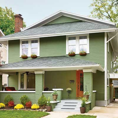Comparing acrylics all about exterior paint this old house - Cost to paint house exterior trim ...
