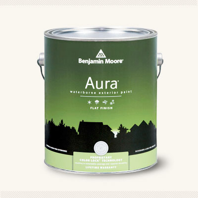 all about Comparing Aura Acrylics exterior paint